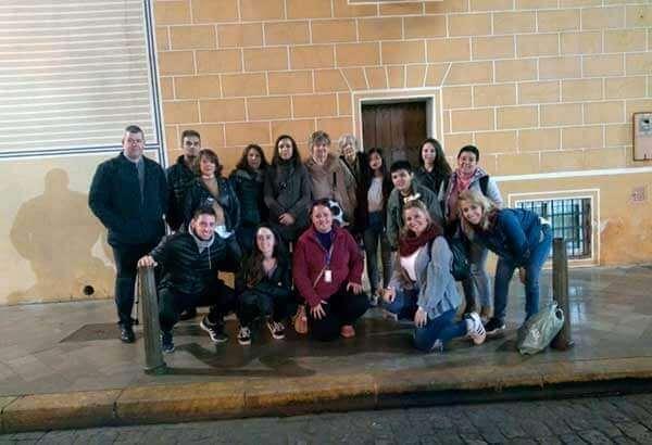 Visitas en grupo por Sevilla